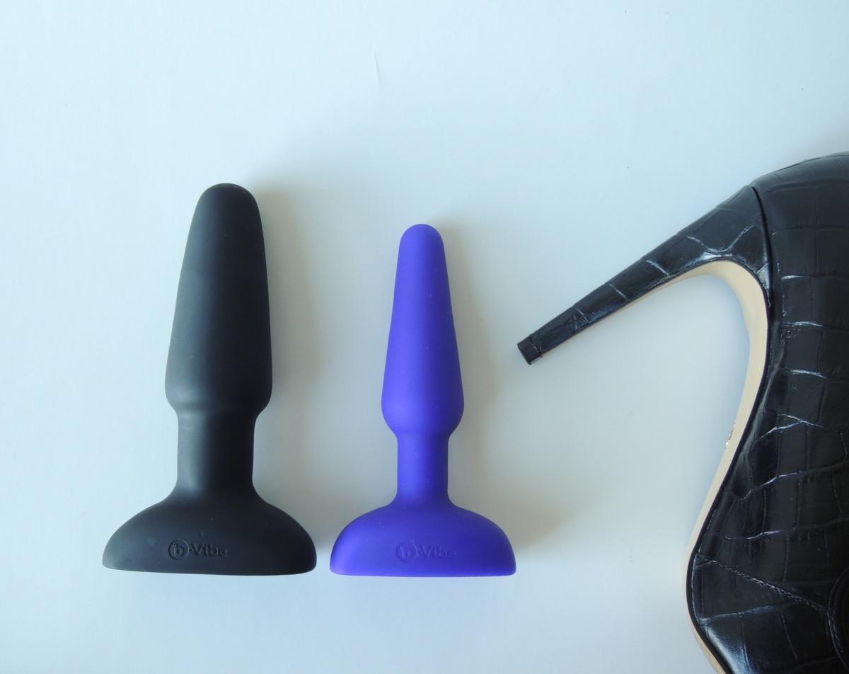 b-Vibe Trio Plug compared to b-Vibe Rimming Plug