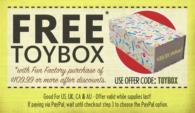 Shevibe Fun Factory Toybox