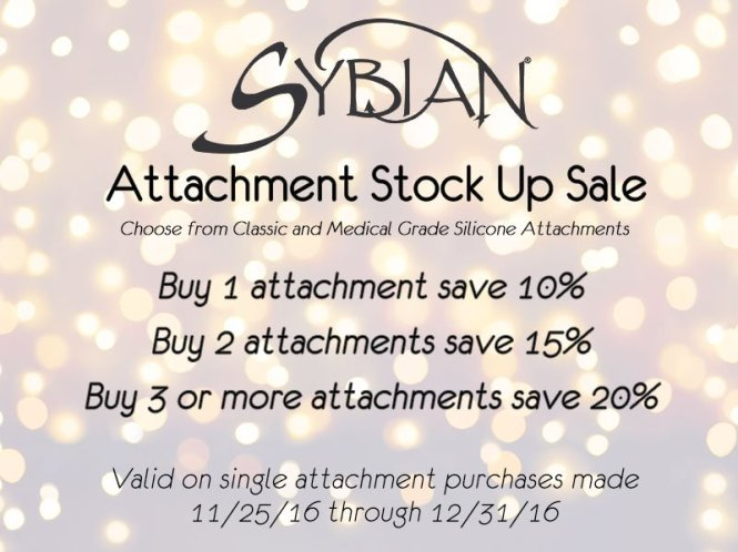 Sybian Attachment Sale