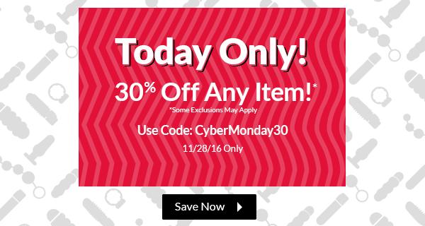 Vibrant Cyber Monday