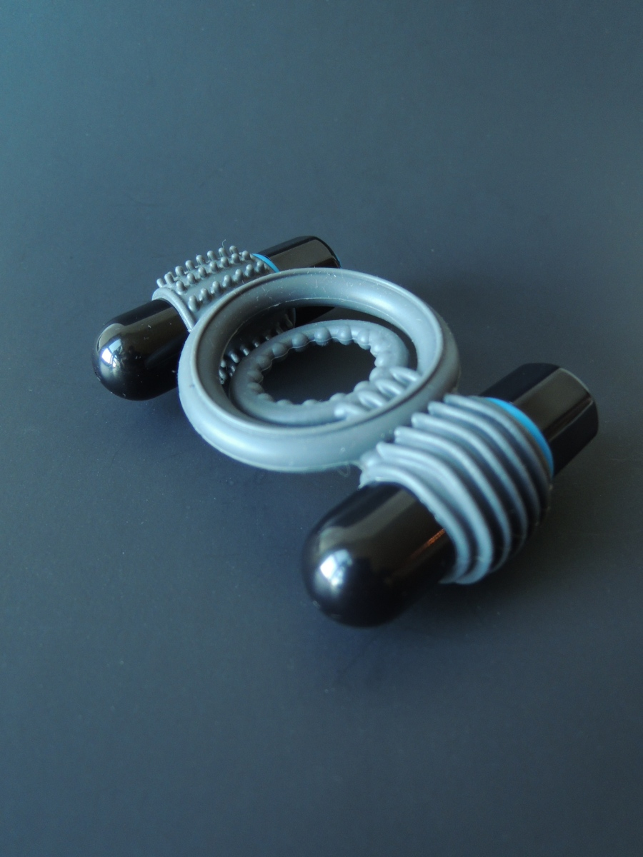 Optimale Vibrating Double Cock Ring
