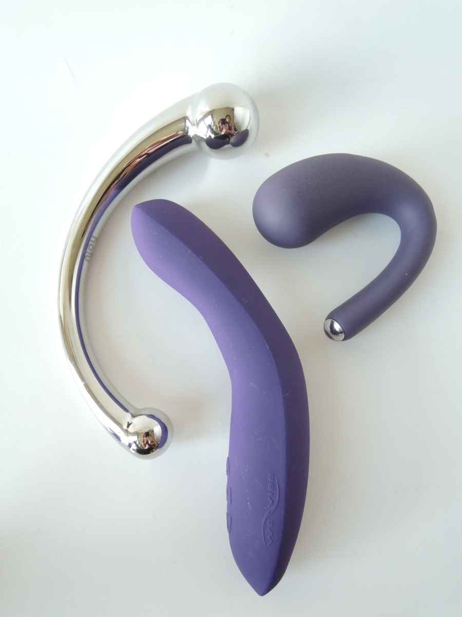 We-Vibe Rave Njoy Pure Wand and Je Joue Dua