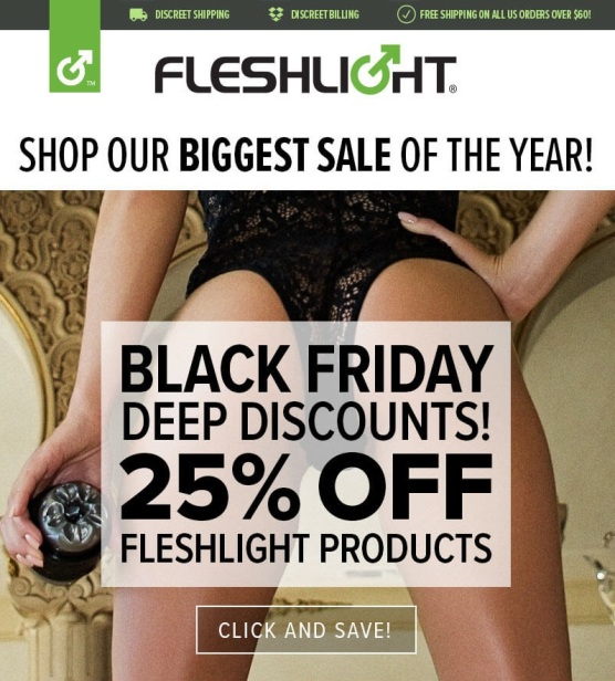 Fleshlight Black Friday