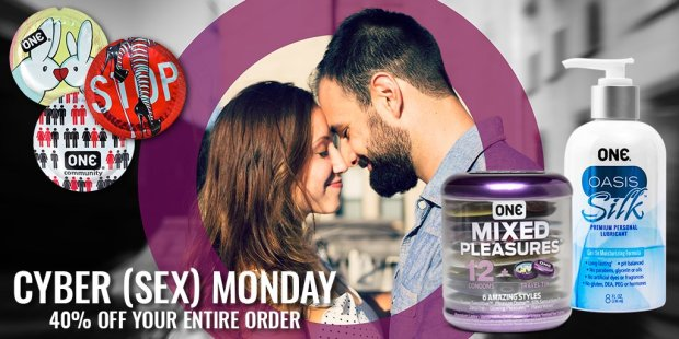 One Condoms Cyber Monday